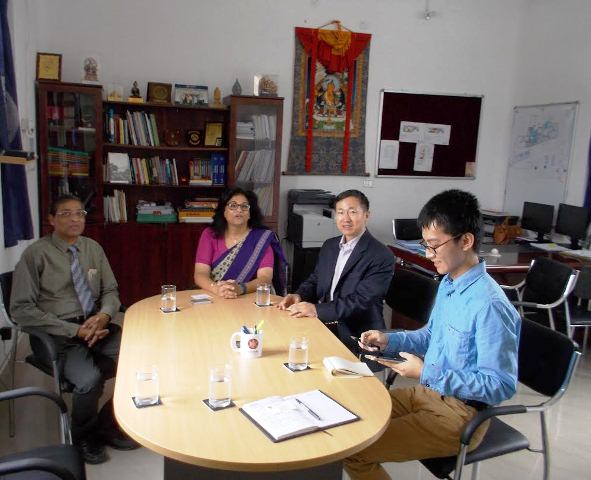 Meeting with Consular Ma Zhanwu at the VC's office