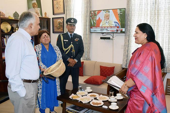 Hon'ble Governor of Mizoram, Lt. Gen. Nirbhay Sharma visited the Nalanda