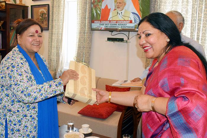 Hon'ble Governor of Mizoram, Lt. Gen. Nirbhay Sharma visited the Nalanda -2