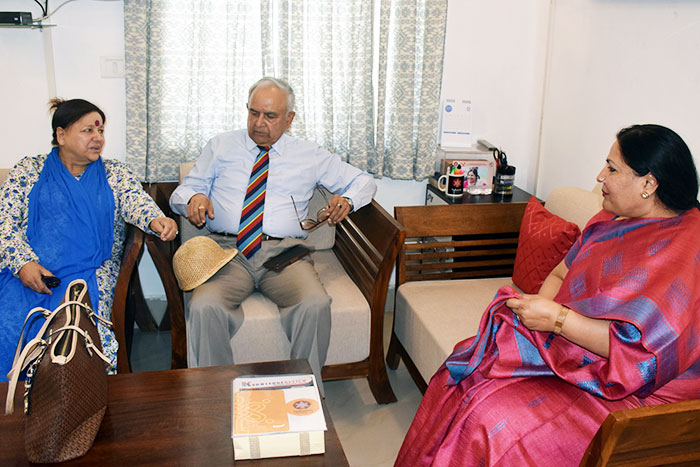 Hon'ble Governor of Mizoram, Lt. Gen. Nirbhay Sharma visited the Nalanda -3
