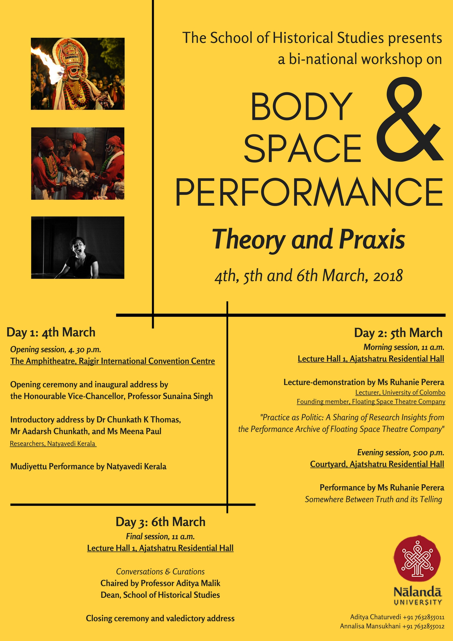 Body, Space and Performance