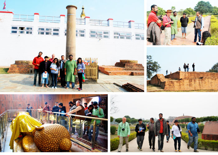 Field visit to Kushinagar: Day two from Six days field trip to Lumbini and other sites 3