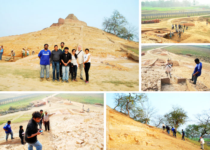 Field visit to Kushinagar: Day two from Six days field trip to Lumbini and other sites 2