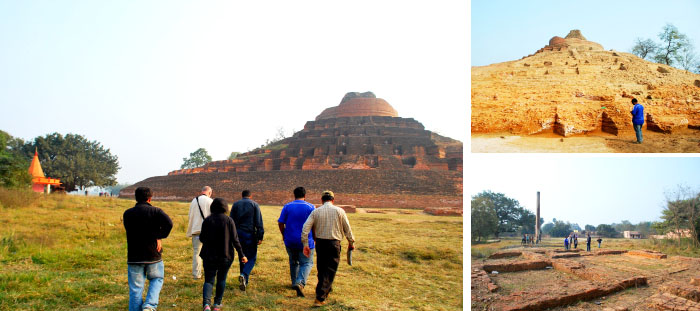 Field visit to Kushinagar: Day two from Six days field trip to Lumbini and other sites1