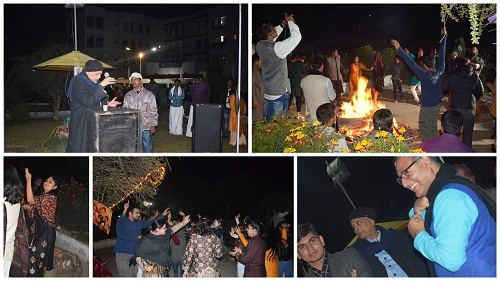Harvest Festival celebrations at Nalanda University