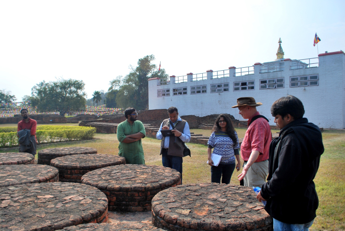 Field visit to Lumbini: Day three from Six days field trip to Lumbini and other sites 2