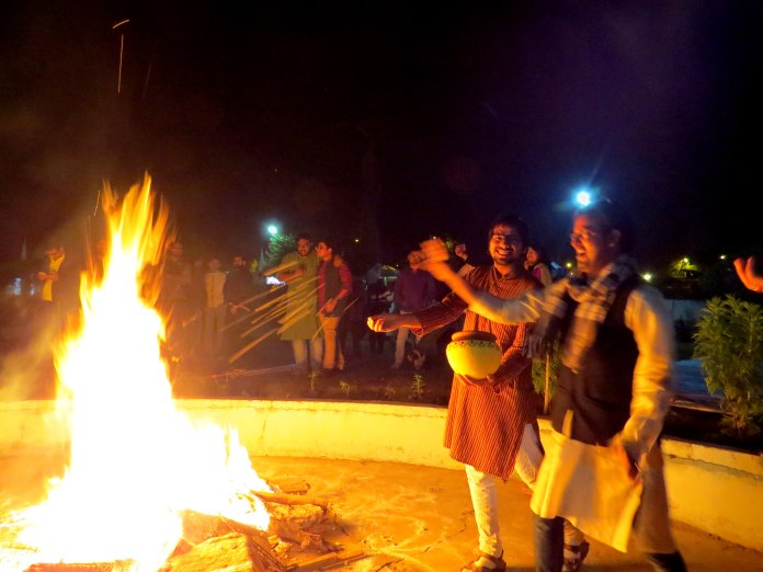 Bonfire, Sweets, Kites, Music and Dance: Makar Sankranti celebrations at Tathagat 3