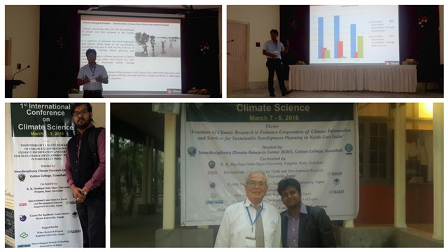 Nalanda Students at International Conference on Climate Science