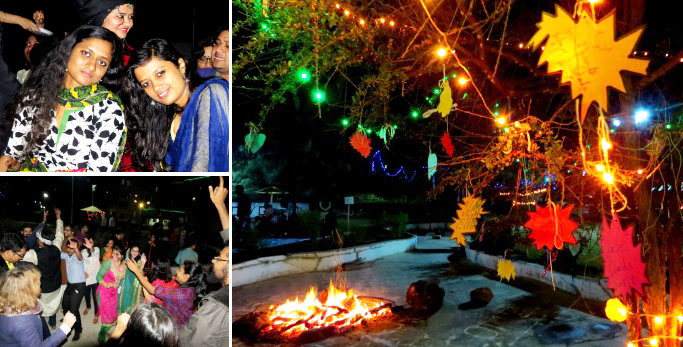 Bonfire, Sweets, Kites, Music and Dance: Makar Sankranti celebrations at Tathagat 1