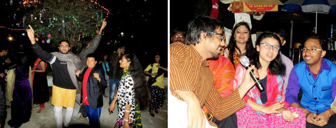 Bonfire, Sweets, Kites, Music and Dance: Makar Sankranti celebrations at Tathagat 2