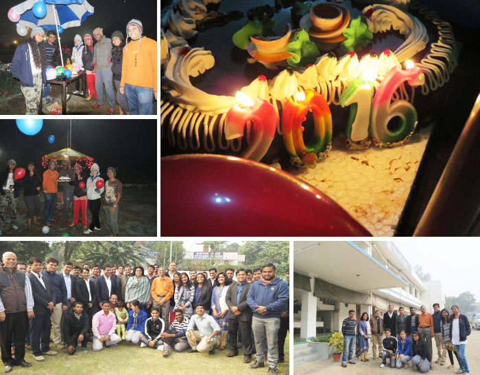 New Year Celebrations at NU Campus