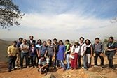 Students visit Vishwa Shanti Stupa to assess the Waste Disposal Scenario and its impacts on Nature