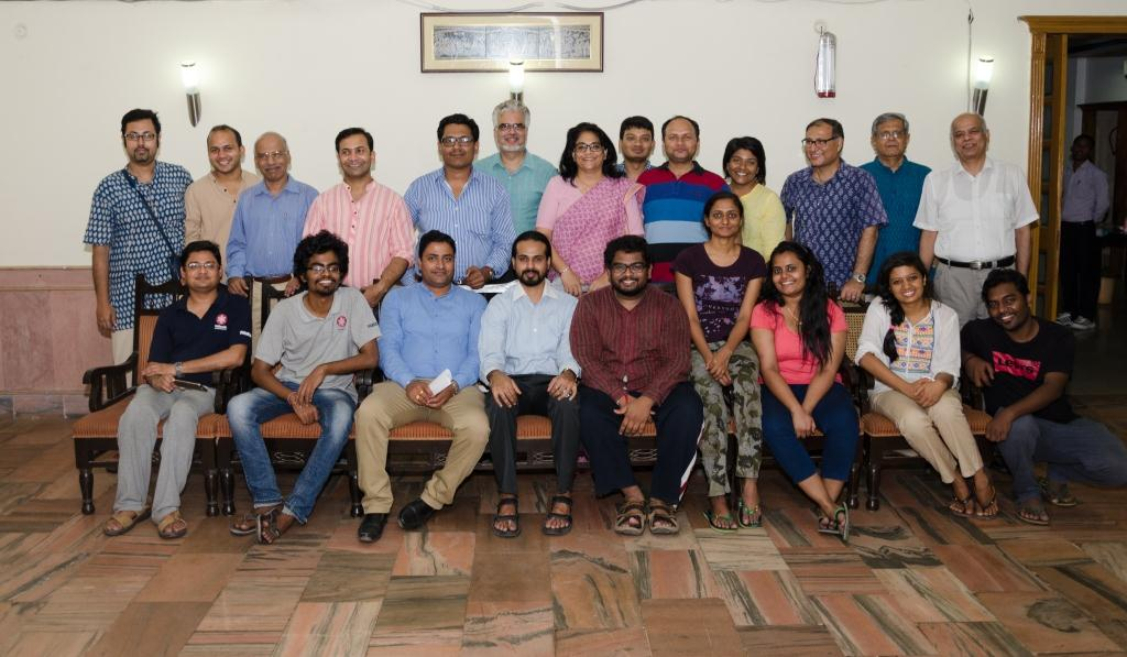 NU Pioneer Batch with Vice Chancellor and Faculty Members