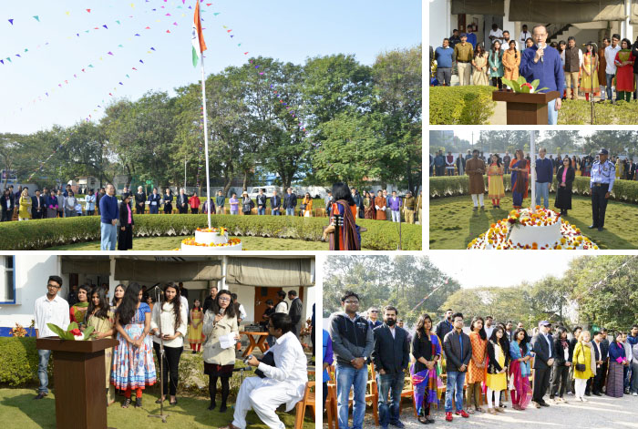 Indian Republic Day celebration: Klay and Aman hoist the flag 1