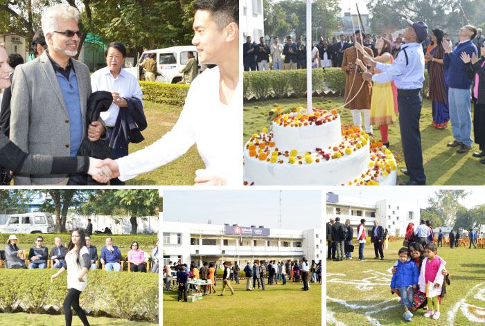 Indian Republic Day celebration: Klay and Aman hoist the flag 2