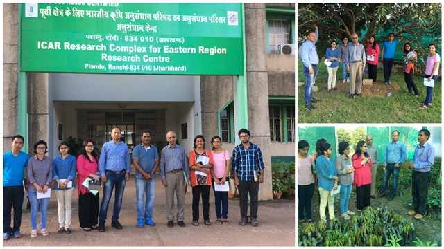 Students and Faculty at the Field Trip to ICAR Research Complex for Eastern Region Research Centre