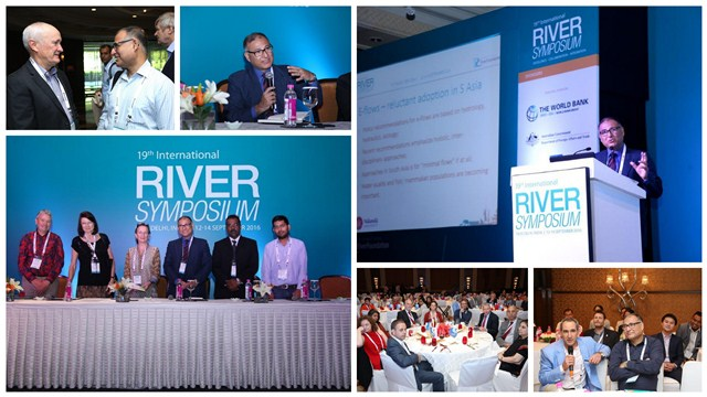 Dr Somnath Bandyopadhyay at International River Symposium
