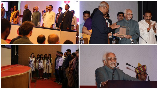 Hon'ble Vice President visits NU